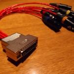 Belden88760を使った、D-Subマルチケーブル制作。
